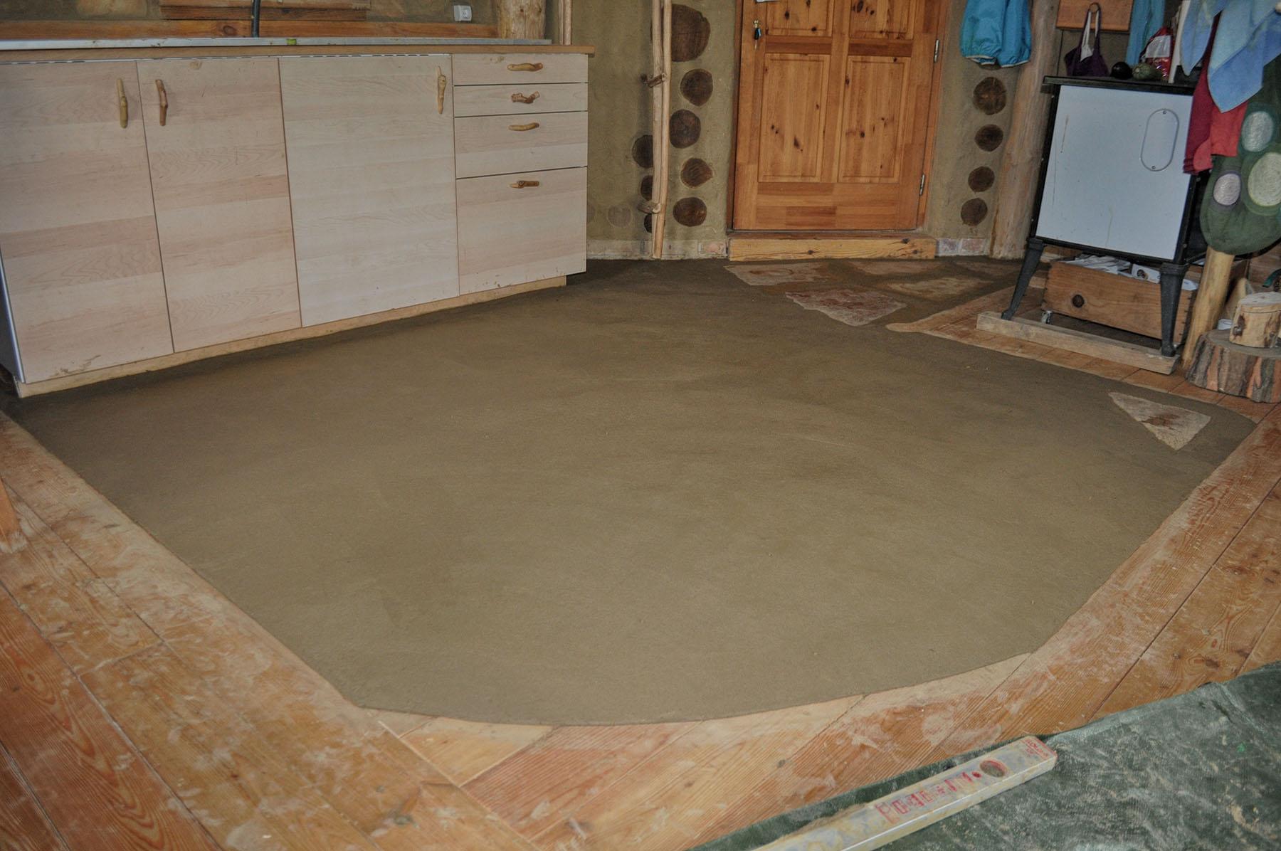 Fußboden Aus Lehm ~ Stampflehmboden nonagon